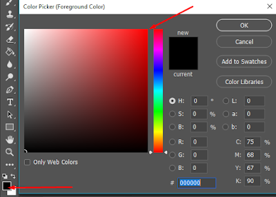 cara mengedit foto latar belakang merah di photoshop