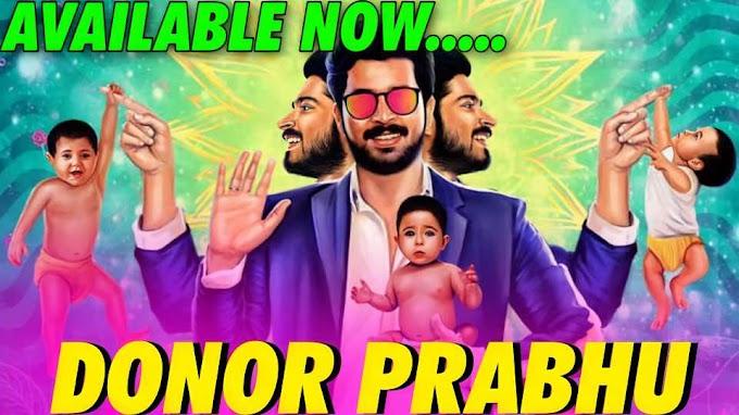 Donor Prabhu Full Movie Hindi Dubbed Available Now, Harish Kalyan, Tanya Hope
