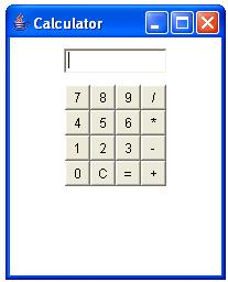 Calculator Program using java