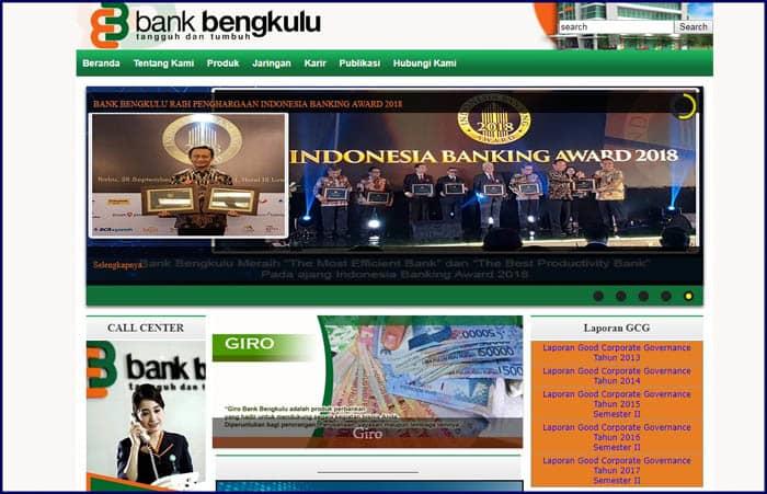 Cara Mendaftar Internet, Mobile dan SMS Banking Bank Bengkulu