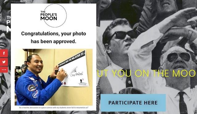 Submit Gambar, dan Jadi Sebahagian Daripada The People's Moon!