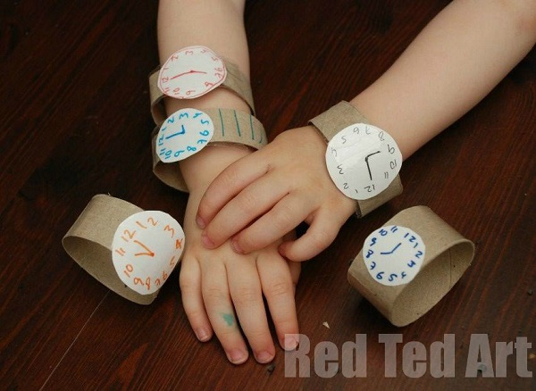 toilet paper roll watches