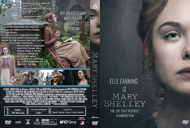 Mary Shelley DVD Cover
