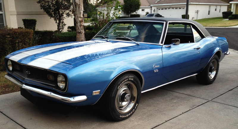 1968 Camaro For Sale In Tampa Bay