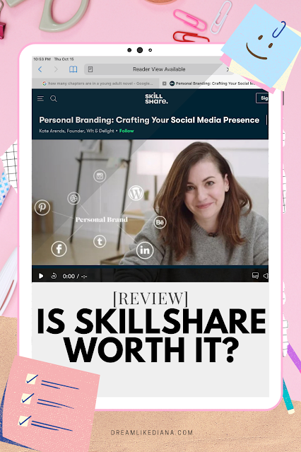 is skillshare worth it? 3 classes i recommend pinterest pin