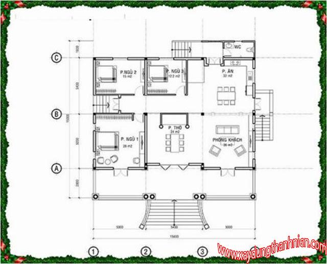 Mẫu Thiết Kế Biệt Thự Mini 3 Phòng Ngủ Đẹp
