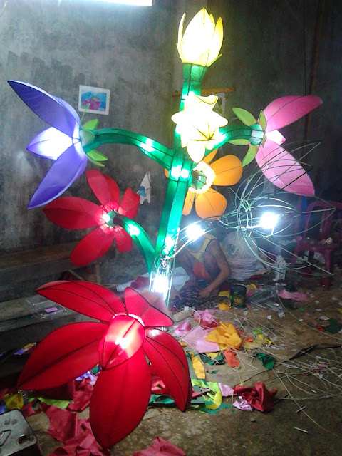 Lampion Bunga