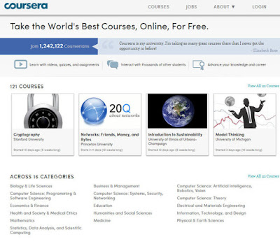 Coursera efforts to make education accessible to anyone