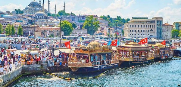 istanbul avrupa yakası tarihi ve doğal gezi yerleri eminönü