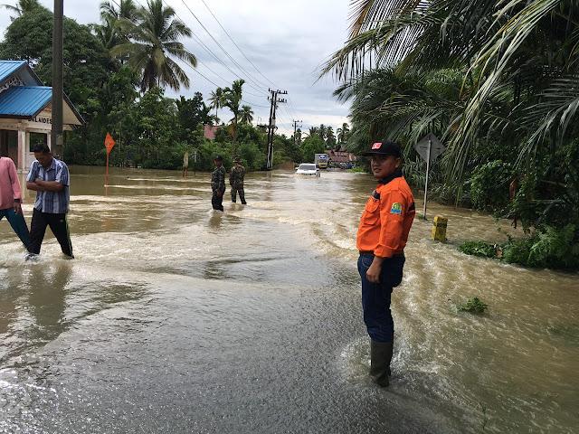 Banjir di Aceh Jaya Semakin Parah