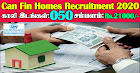 Can Fin Homes Recruitment 2020 50 Junior Officers Posts