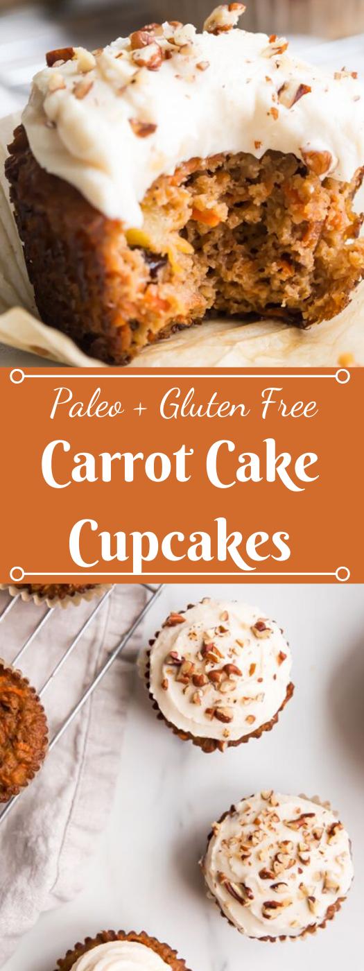 Paleo Carrot Cake Cupcakes #cupcakes #diet #paleo #easy #whole30