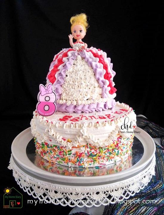 Çitra's Home Diary. #cakedecorationidea #cakedecor #birthdaycake #kueulangtahun #weddingcake #redvelvetcake #bluevelvetcake #cakephotography #lemoncake #şifonkek #indonesisch #anekakueulangtahun #sunflowercake #barbiecake