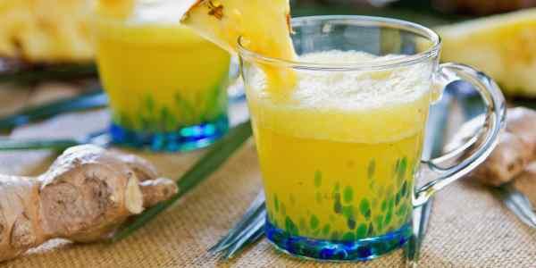 Receita : chá de gengibre com casca de abacaxi como fazer em casa , novidades online brasil saúde, chás