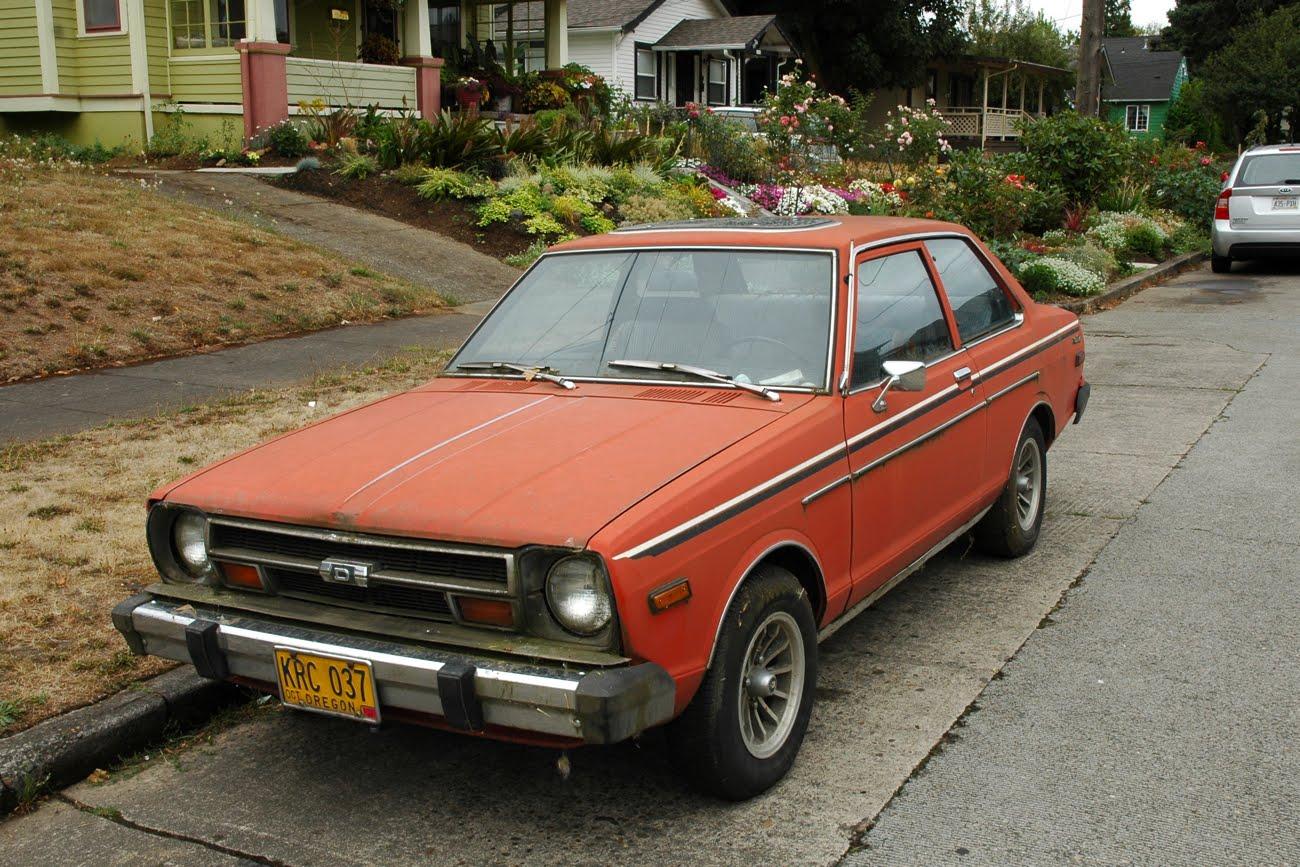 old parked cars 1979 datsun 210. Black Bedroom Furniture Sets. Home Design Ideas
