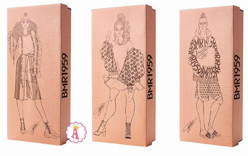 Коллекционные куклы Барби 2019 года Signature Black Label BMR1959