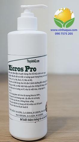 Phân nước thủy sinh vi lượng Micros Pro