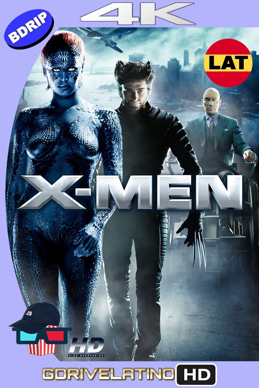 X-Men (2000) BDRip 4K HDR Latino-Ingles MKV