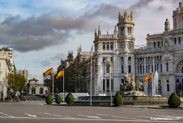 Fonte das Cibeles, Madri, Espanha