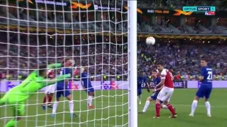 Alex Iwobi Scores Stunning Volley Goal In Europa League Final, Fans React (Photos)