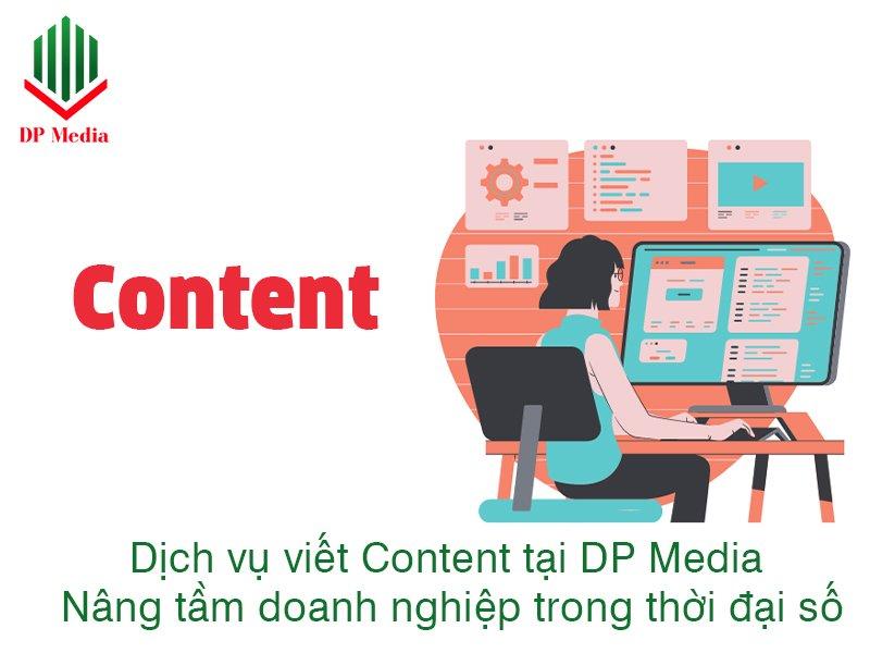 DỊCH VỤ VIẾT CONTENT TẠI DP MEDIA - NÂNG TẦM DOANH NGHIỆP TRONG THỜI ĐẠI SỐ
