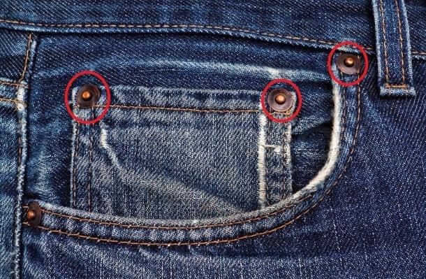 Inilah Fungsi Sebenar Butang Tembaga Pada Seluar Jeans Yang Ramai Sangka Hiasan