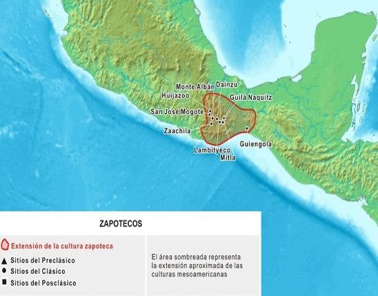 zona desarollo cultura zapoteca