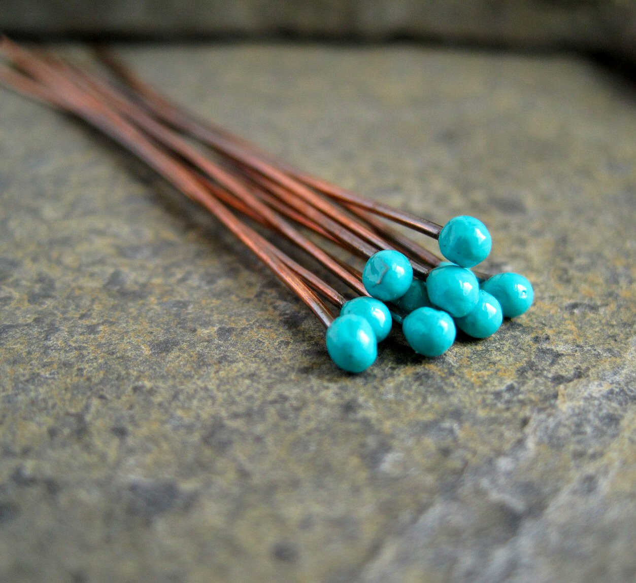 Ball Copper Headpins 88