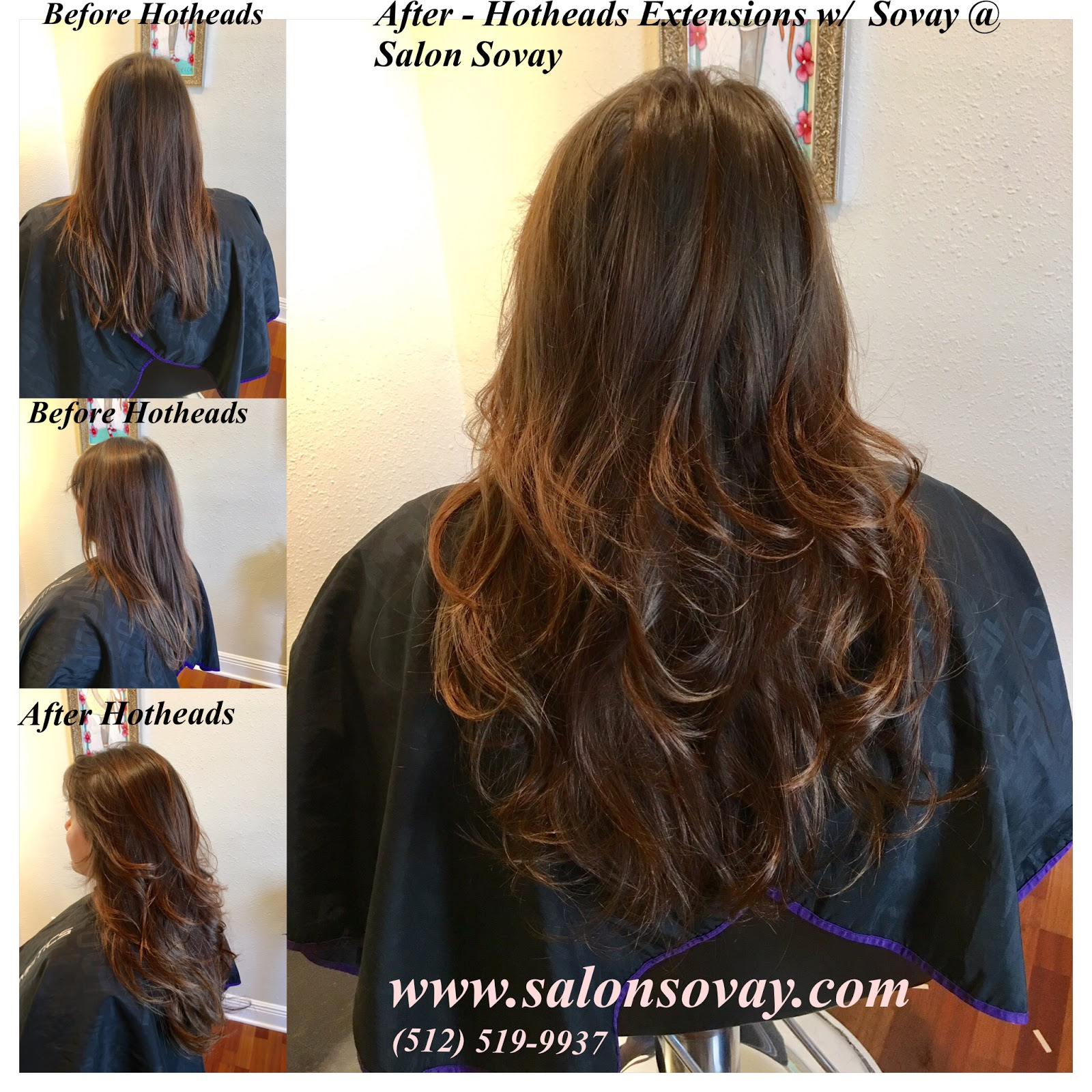 Salon Sovay Hotheads Hair Extensions In Austin Texas By Sovay
