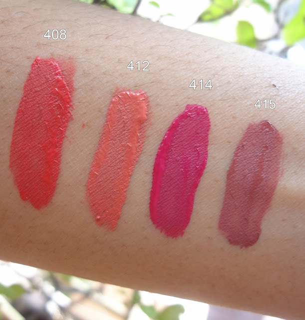Incolor Matte Me ultra smooth matte lip creams