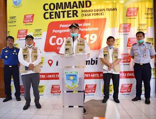 Walikota Jambi Benarkan Salah Satu Warga Eka Jaya Terduga Covid-19.