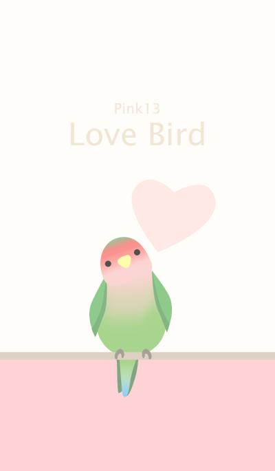 Lovebird/pink 13
