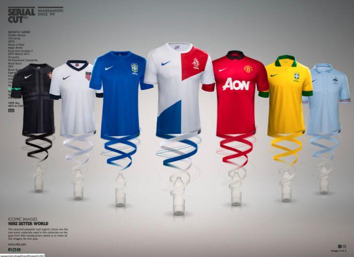 Serialcut - Graphic Design - Football Shirts