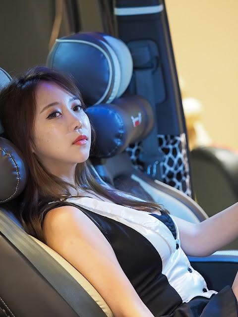 4 Song Da Mi - Seoul Auto Salon - very cute asian girl-girlcute4u.blogspot.com