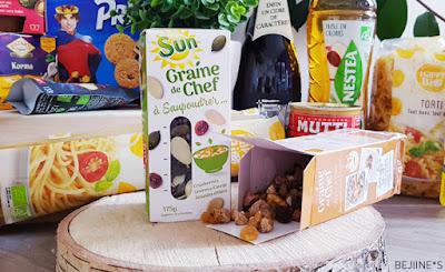"""Unboxing DegustaBox """"Comme un Chef"""" Graines Sun"""