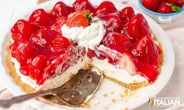 no bkae strawberry cheesecake