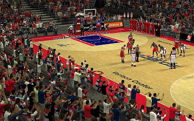 NBA 2K13 Wizards Stadium Crowd Patch