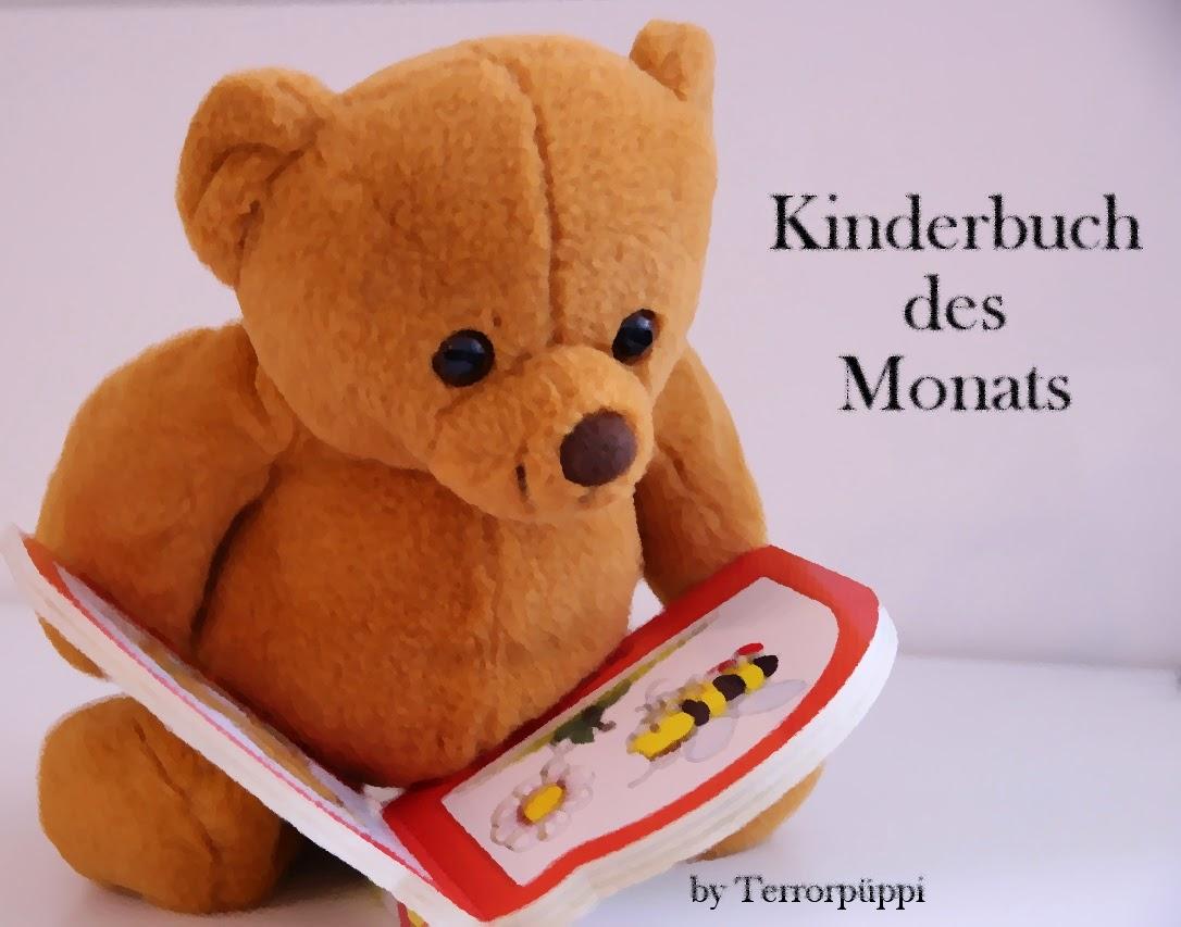 Kinderbuch des Monats; Teddybär mit Bilderbuch