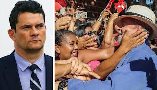Se Moro é suspeito, Lula é inocente até prova em contrário