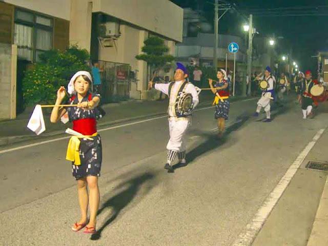dance, festival, Eisa, Obon, Okinawa