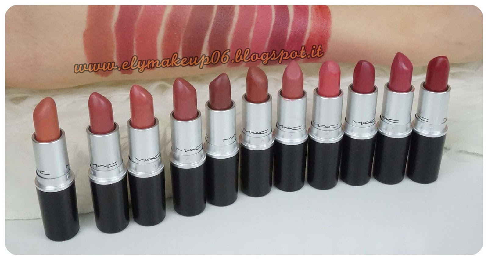Super ElyMakeup: My Mac Lipstick Collection | I Miei Rossetti Mac Swatch  SO92