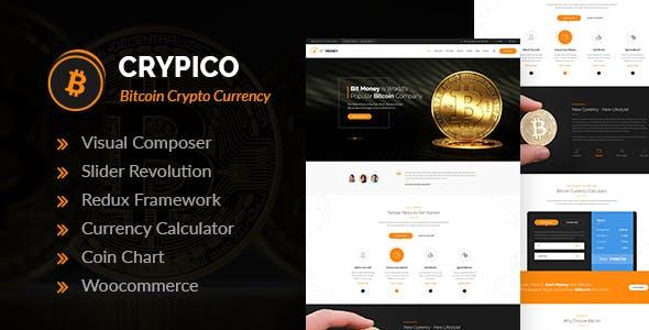 Crypico v1.3 - Chủ đề WordPress về tiền điện tử
