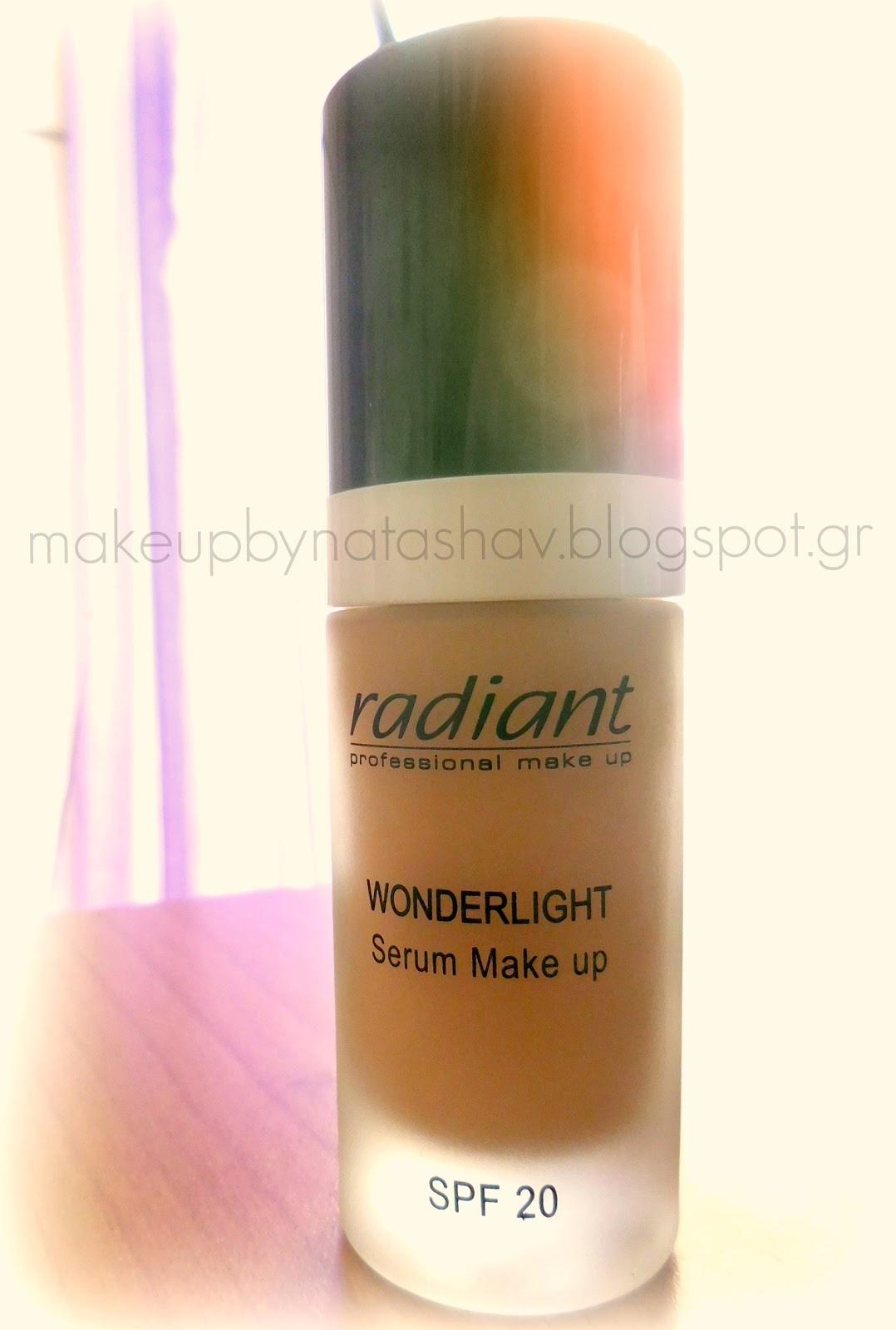 Radiant Professional Make Up: Wonderlight Serum Make Up