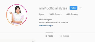 Baghdad man take over MNL48 Alyssa Instagram account