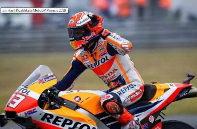Jihar News, Berikut Hasil Kualifikasi MotoGP Prancis 2019
