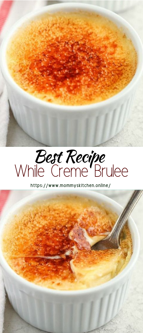 While Creme Brulee #healthyfood #dietketo #breakfast #food