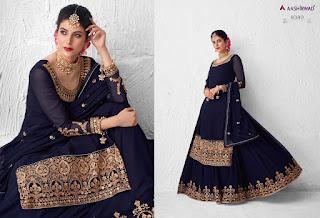 Aashirwad Meraki Wedding Salwar Kameez Catalog