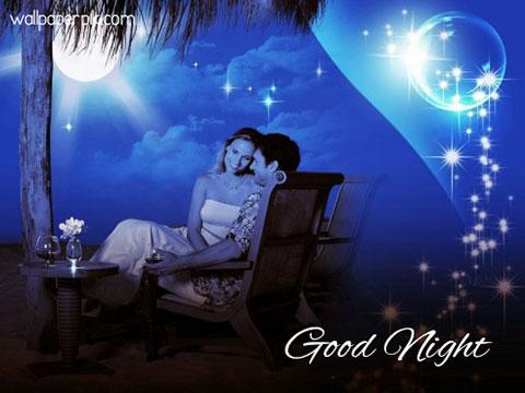 very romantic good night image