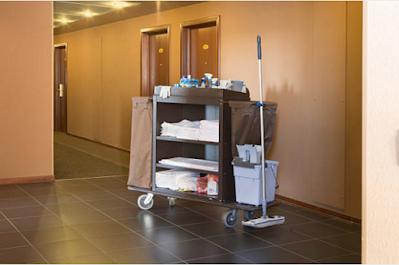 Đặc điểm của xe đẩy Trolley trong khách sạn