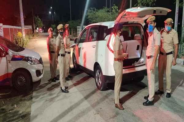 faridabad-police-night-domination-checking-11-june-2021